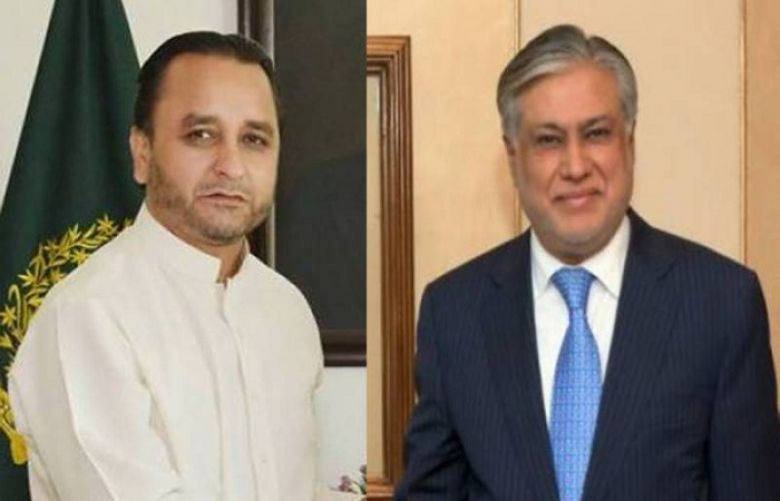 Finance Minister meets with CM Gilgit-Baltistan in Islamabad