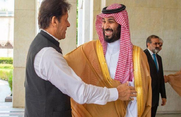 pm imran khan and saudi prince