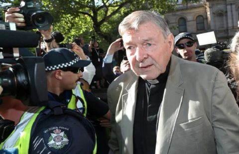 Australia's Cardinal Pell sued for alleged child abuse