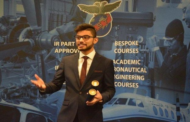 Hamza Nasir Saigal is the only Pakistani student who was studying the two-year aviation programme at the prestigious Air Service Training (AST) academy in Perth, Scotland.