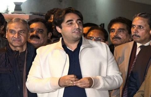 Chairman of Pakistan Peoples Party Bilawal Bhutto Zardari