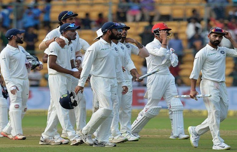 Anderson takes five as India 107 all out at stumps