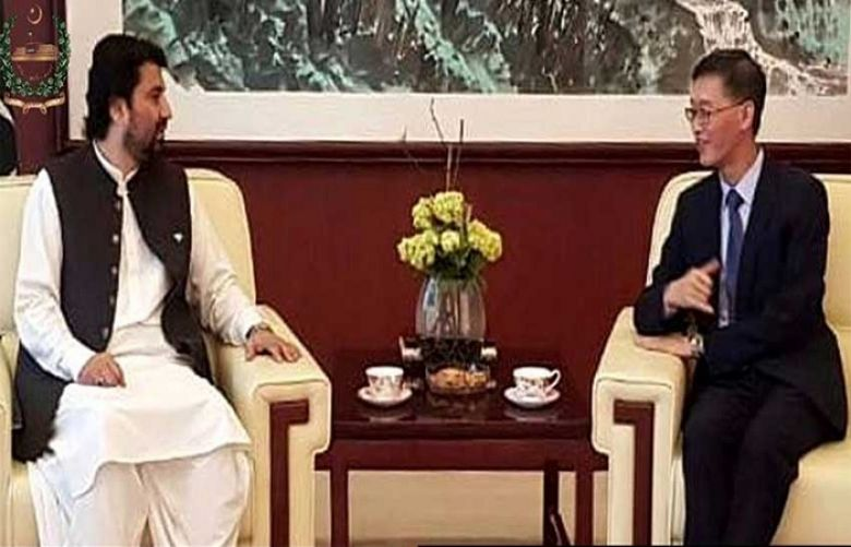 Qasim Suri, Yao Jing discuss bilateral relations, important regional & global issues