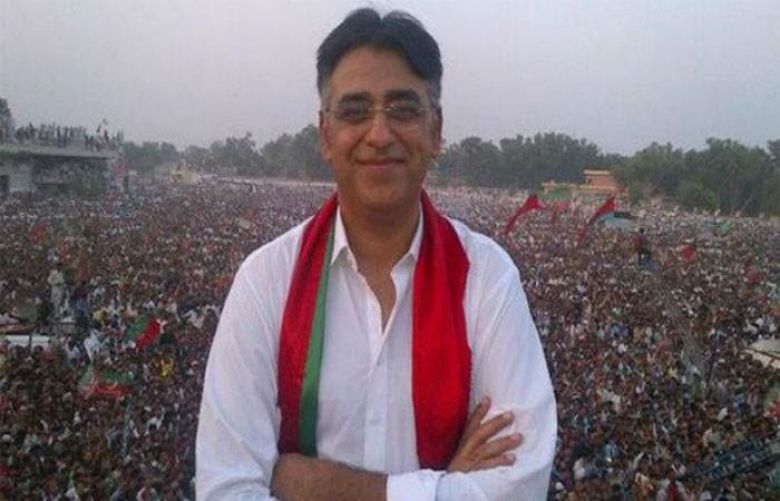 Asad Umar injured after falling from horse