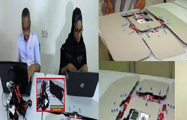 Fatiha Abdullahi from Nigeria created a cheap robot