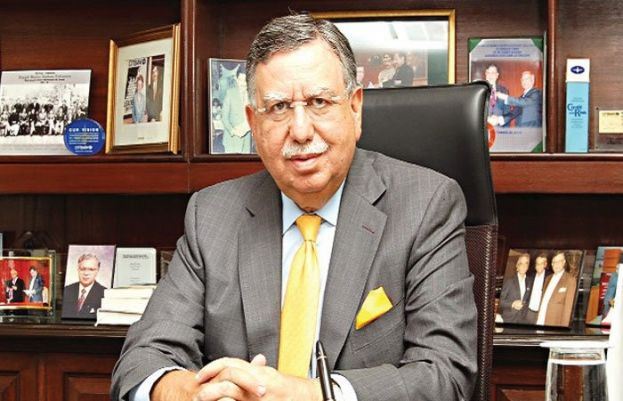 Pakistani banker and former finance minister Shaukat Tareen