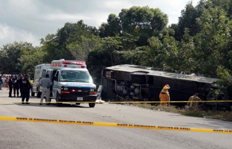 Seven dead in US state of New Mexico after bus collides with truck