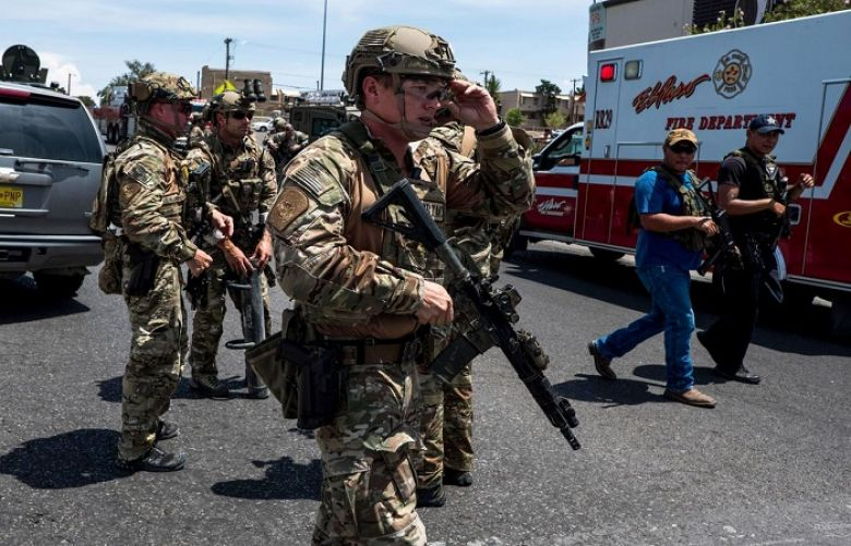 Man armed with a rifle opened fire at a Walmart store in El Paso, Texas