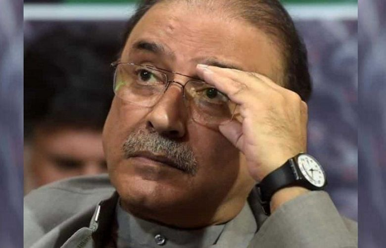 PTI files plea in Election Commission seeking Zardari's disqualification