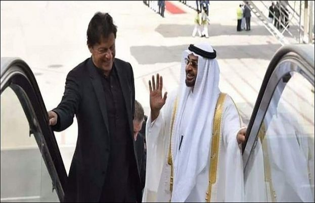After meeting with PM Imran Abu Dhabi crown prince heads back home