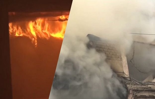 Fire doused at superstore in Karachi