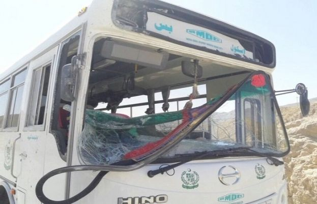 Roadside blast damages government bus in Quetta