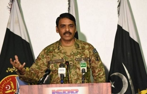 Director General Inter-Services Public Relations Major General Asif Ghafoor