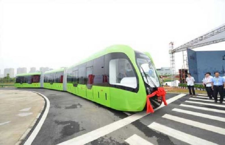 World's first driverless rail transit system unveiled in China