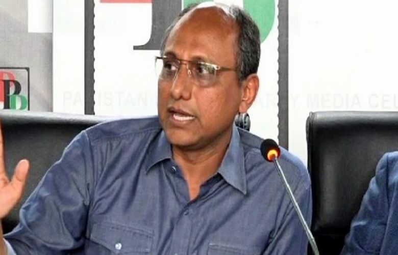 Provincial Education Minister Saeed Ghani