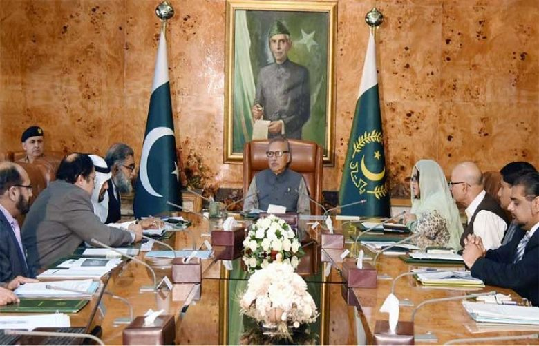 Universities have crucial role in human resource development: President Alvi