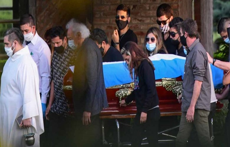 Maradona buried as world grieves imperfect soccer extraordinary