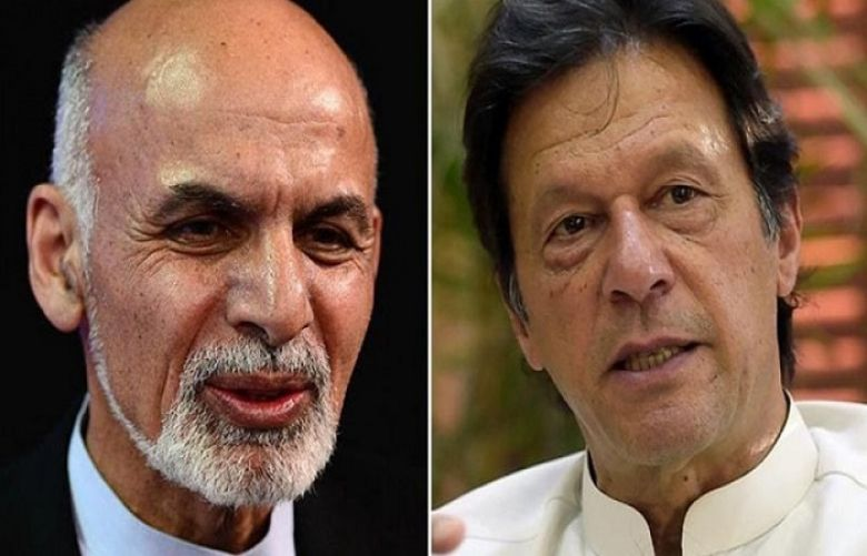 PM Imran, President Ghani discuss recent efforts for peace in Afghanistan