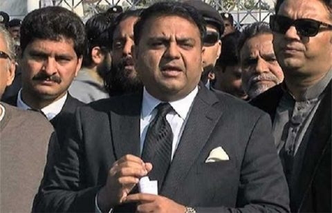 Federal Information Minister Fawad Chaudhry