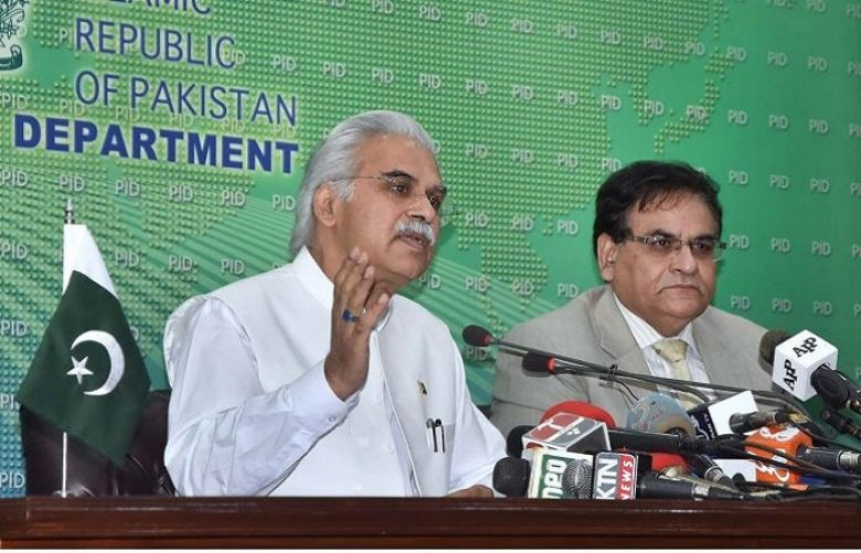 Minister of State for National Health Services, Regulations and Coordination Dr Zafar Mirza