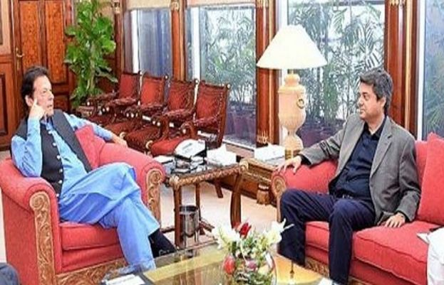 Federal Minister for Law Farogh Naseem called on Prime Minister Imran Khan in Islamabad