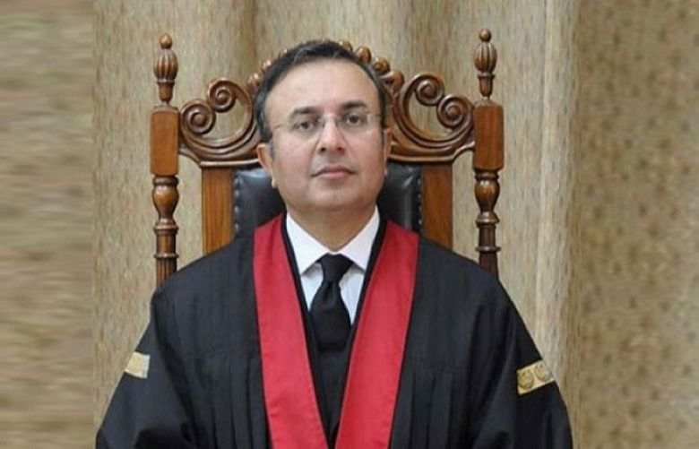 Lahore High Court Chief Justice Syed Mansoor Ali Shah