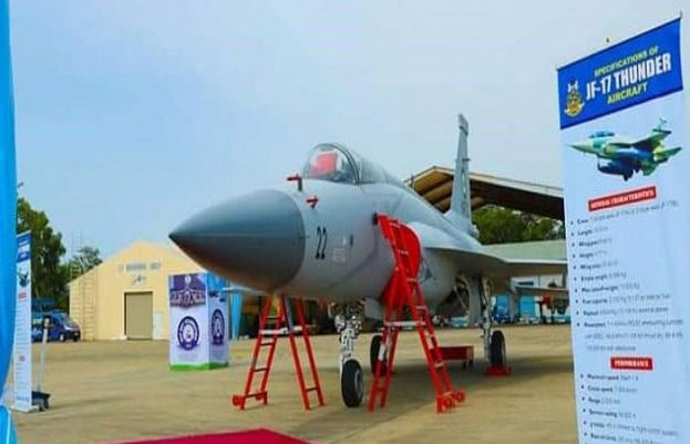 3 JF-17 Thunder jets handed over to Nigeria