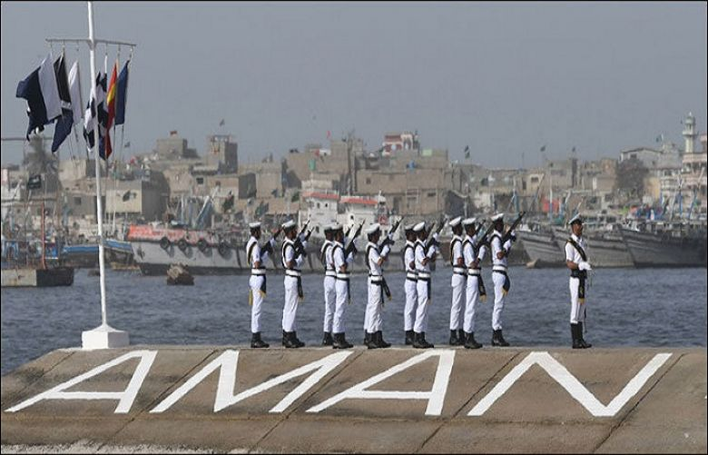 Multi-nation naval exercise Aman-19 concludes in Karachi