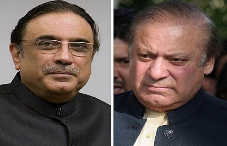 Nawaz Sharif and Asif Ali Zardari