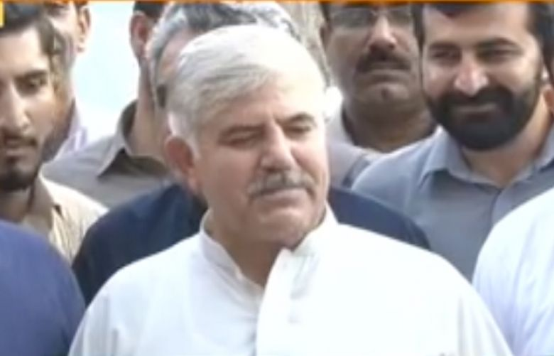 Nominated CM KP Mehmood Khan denied report of rifts in PTI