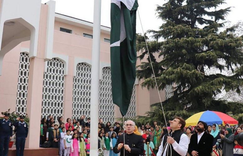 Pakistan Day celebrated with national spirit at Pak Embassy in Beijing