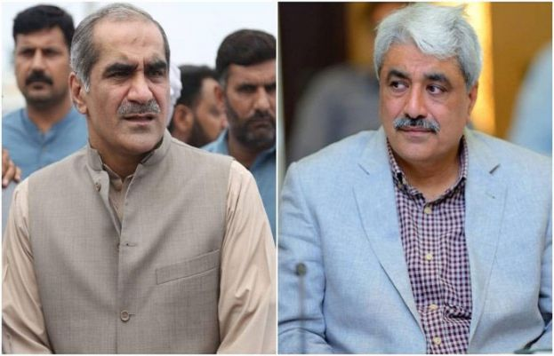 Pakistan Muslim League-Nawaz (PML-N) leader Saad Rafique and his brother Salman Rafique