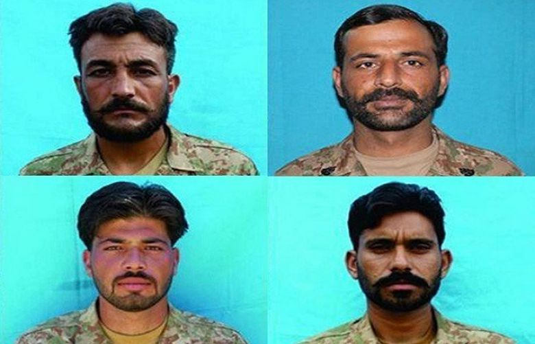 Four soldiers of the Pakistan Army were martyred during an intelligence-based operation (IBO) in North Waziristan