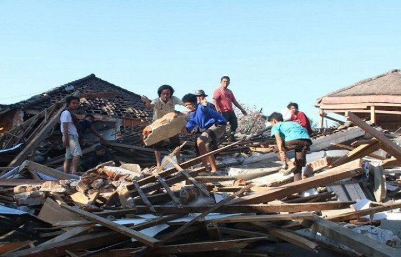 Death toll from Indonesia quake tops 387