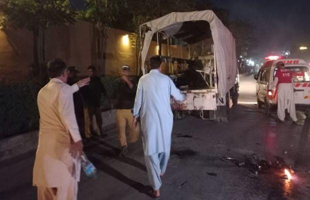 Two policemen martyred in blast near Quetta's Zarghoon Road