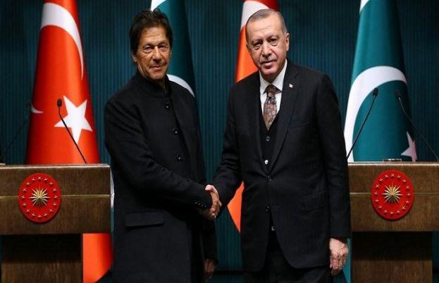 Turkish President Recep Tayyip Erdogan has telephoned Prime Minister Imran Khan