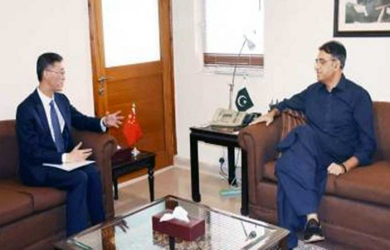 China's support essential for economic development of Pakistan: Asad Umer