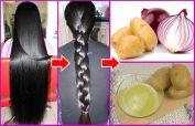 Onion juice helps hair growth