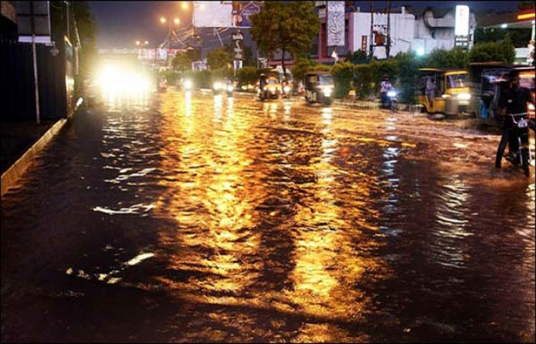 At least five dead as rain batters Karachi