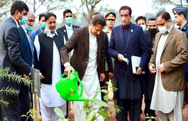 PM Imran on launching Miyawaki urban forest in Lahore