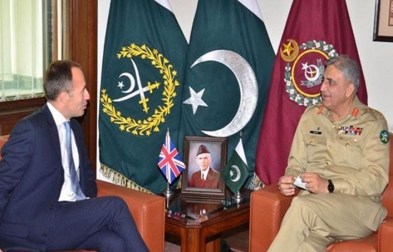 COAS, British HC discuss matters of mutual interest