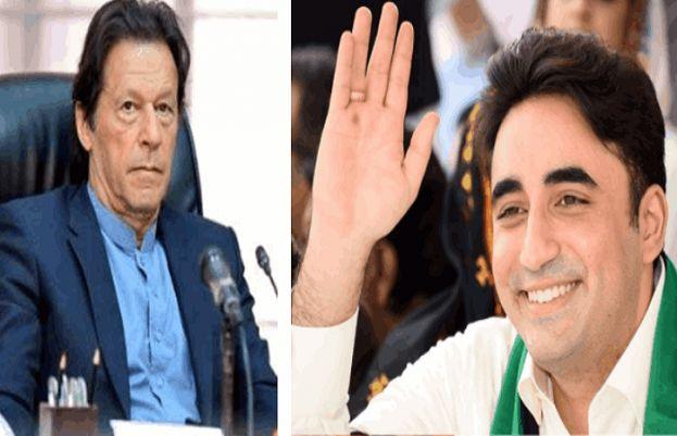 PM Imran Khan and Bilawal Bhutto