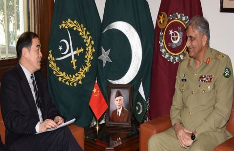 COAS, Chines Vice FM discuss Matters relating regional peace and stability