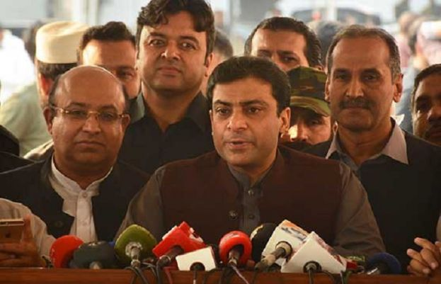opposition leader in Punjab Assembly Hamza Shehbaz
