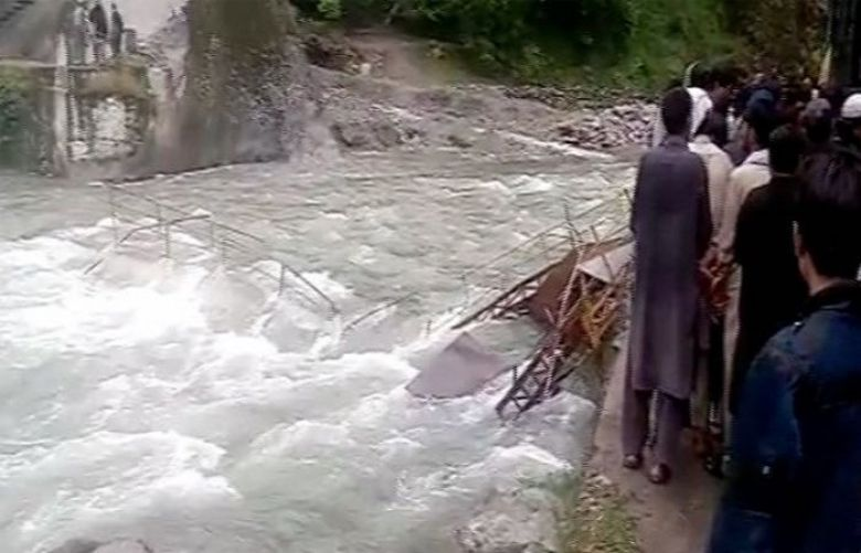 Neelum bridge collapse: Rescue efforts resume to recover six missing tourists