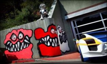 Chris Brown's Scary Curbside Art