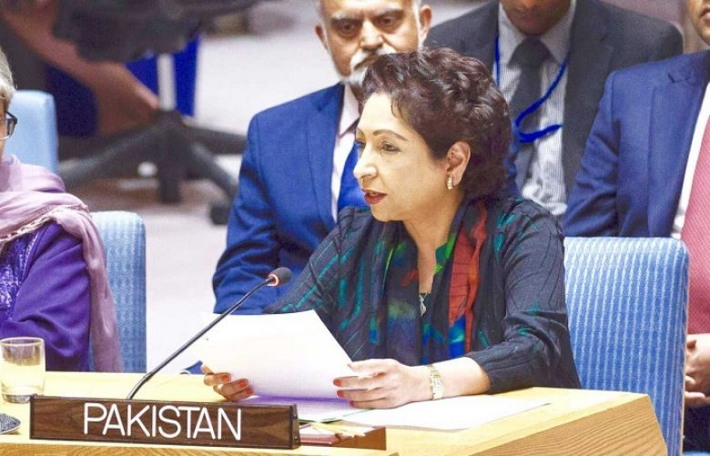 Pakistan's Ambassador and Permanent Representative to the United Nations Maleeha Lodhi