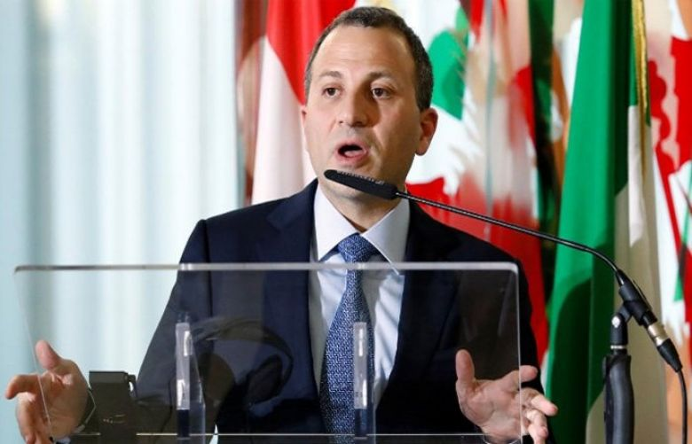 Foreign Minister Gebran Bassil