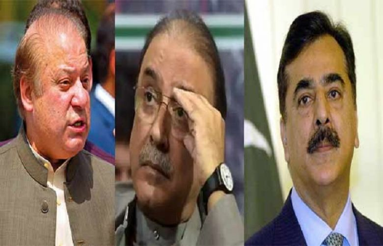 Court declares Nawaz 'proclaimed offender' besides indicted Zardari, Gillani