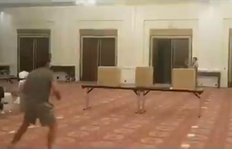 BabarAzam, Imam playing badminton at hotel in Lahore, watch video